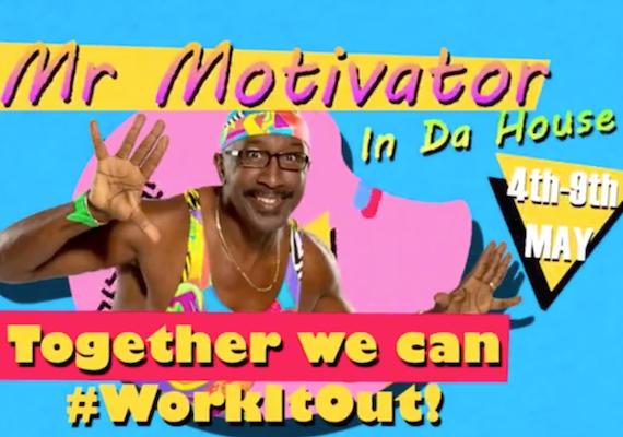 Mr Motivator Animation